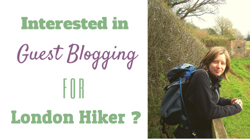Interested in blogging for London Hiker?