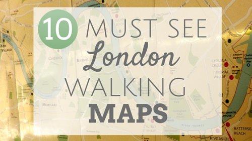 Ten must see London walking maps