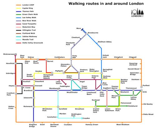LondonistWalkersTubeMapwalks4