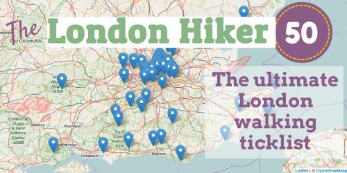 The London Hiker 50 the ultimate walking ticklist