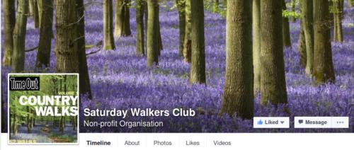 Saturday Walkers Club Facebook Page
