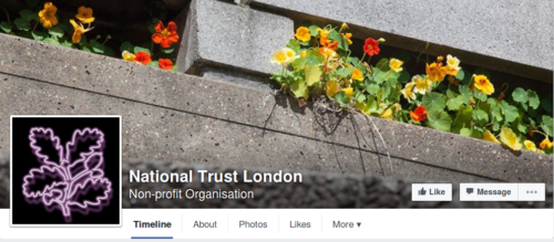 National Trust London Facebook Page