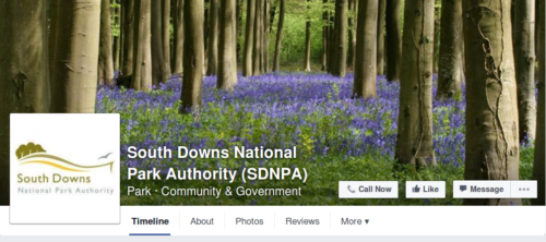 South Downs National PArk Authority Facebook Page